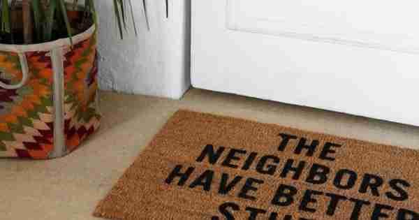 5个最好的门垫是给予伟大的第一印象