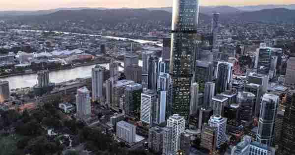 澳大利亚的不断变化的天际线:公寓塔超越记录